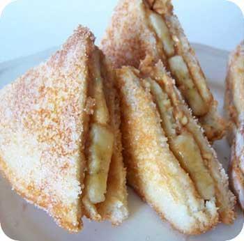 PB & Banana Sandwich