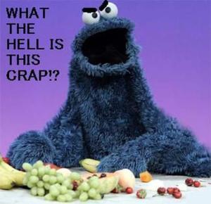 Coooie Monster on Diet
